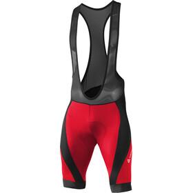 Löffler Hotbond RF XT Miehet Bib-pyöräilyhousut , punainen/musta